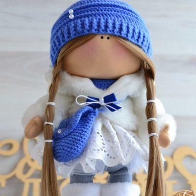 Кукла Снежка   В наличии